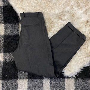 Vtg Pierre Balmain grey pleated trousers high rise